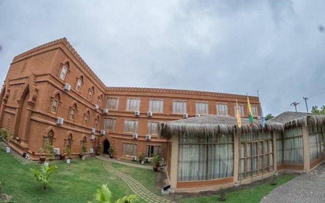 Bagan Landmark Hotel вид на фасад