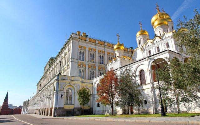 Апартаменты InnDays Apartments Kurskaya Москва вид на фасад