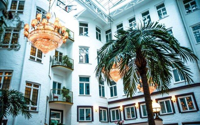 Отель Best Western Bentleys вид на фасад