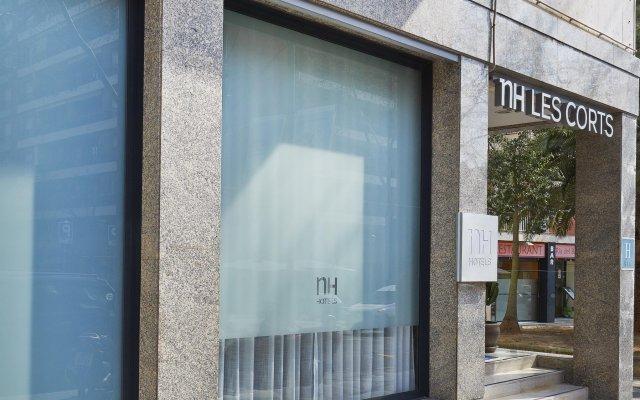 Отель NH Barcelona Les Corts Испания, Барселона - 1 отзыв об отеле, цены и фото номеров - забронировать отель NH Barcelona Les Corts онлайн вид на фасад