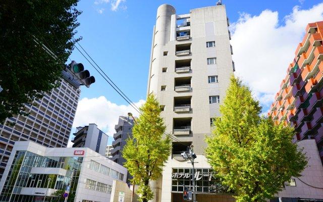 Отель Route-Inn Hakata Eki Minami Япония, Хаката - отзывы, цены и фото номеров - забронировать отель Route-Inn Hakata Eki Minami онлайн вид на фасад