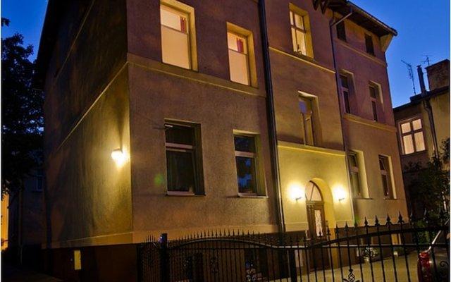 Апартаменты Imperial Apartments - Miramare Сопот вид на фасад
