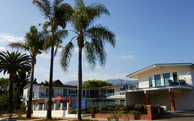 Отель Pacific Crest Hotel Santa Barbara США, Санта-Барбара - отзывы, цены и фото номеров - забронировать отель Pacific Crest Hotel Santa Barbara онлайн вид на фасад