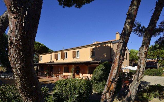 Отель Fattoria San Lorenzo вид на фасад