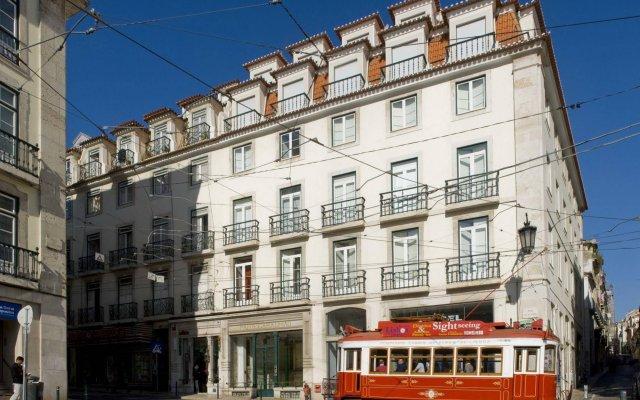 Апартаменты Chiado Apartments Лиссабон вид на фасад