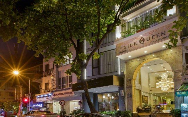 Отель Silk Queen Grand Hotel Вьетнам, Ханой - отзывы, цены и фото номеров - забронировать отель Silk Queen Grand Hotel онлайн вид на фасад