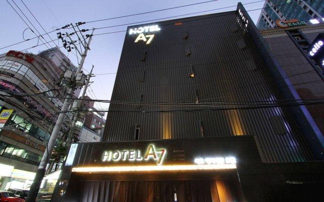 Hotel A7 вид на фасад