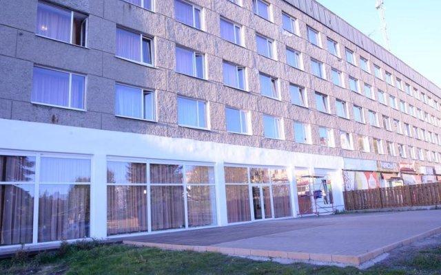 Гостиница Карелия в Кондопоге 2 отзыва об отеле, цены и фото номеров - забронировать гостиницу Карелия онлайн Кондопога вид на фасад