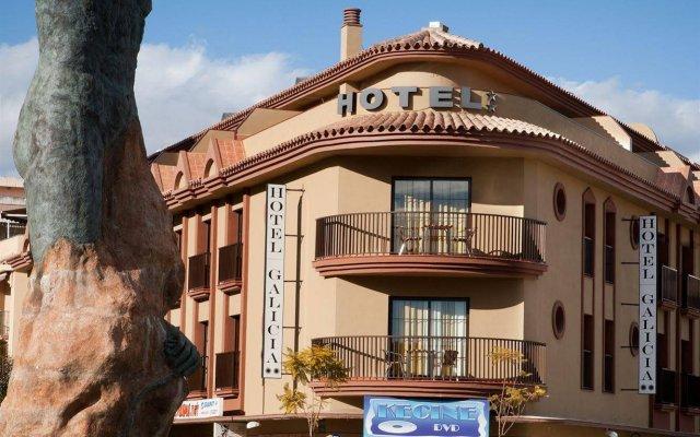 Отель Galicia Испания, Фуэнхирола - отзывы, цены и фото номеров - забронировать отель Galicia онлайн вид на фасад