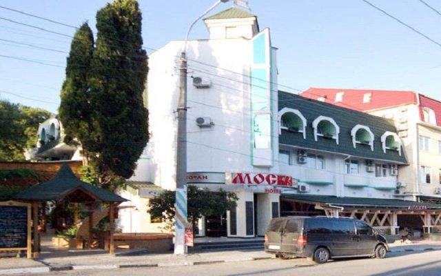 Гостиница Moskva Hotel в Алуште 9 отзывов об отеле, цены и фото номеров - забронировать гостиницу Moskva Hotel онлайн Алушта вид на фасад