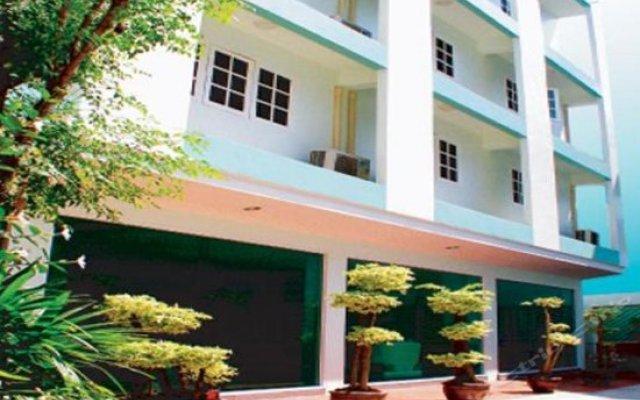 Отель The Green View вид на фасад