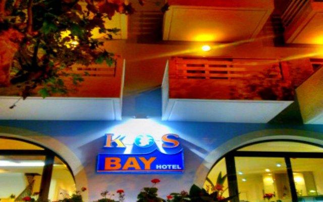 Отель Kos Bay Hotel Греция, Кос - отзывы, цены и фото номеров - забронировать отель Kos Bay Hotel онлайн вид на фасад