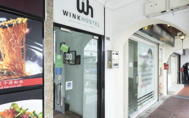 Wink Hostel Сингапур вид на фасад