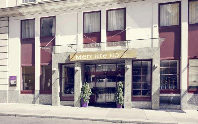 Hotel Mercure Wien Zentrum Вена вид на фасад