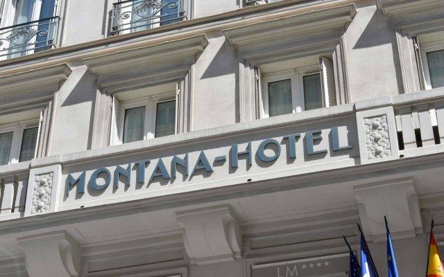 Отель Hôtel Louvre Montana вид на фасад