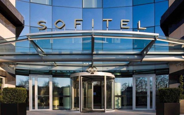 Отель Sofitel Luxembourg Le Grand Ducal вид на фасад