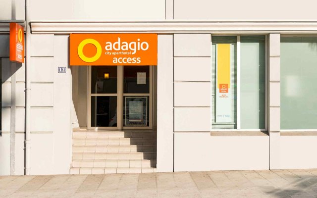 Отель Aparthotel Adagio access Nice Magnan вид на фасад