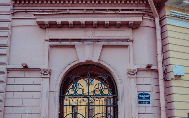 Хостел Берег Санкт-Петербург вид на фасад