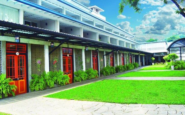 Отель THILANKA Канди вид на фасад