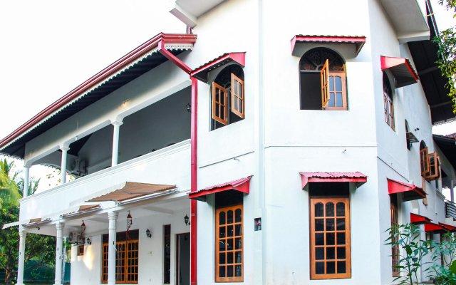Отель Negombo Village вид на фасад
