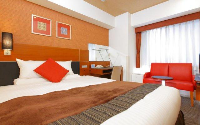 Отель Mystays Fukuoka Tenjin-Minami Фукуока комната для гостей