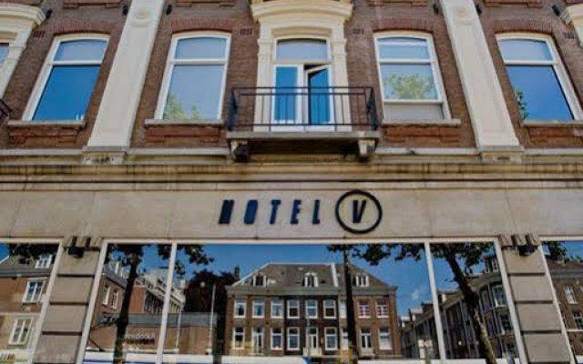 Отель V Lofts вид на фасад