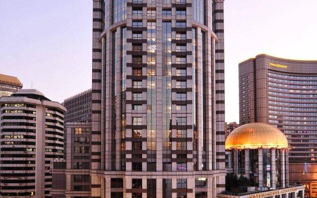 Central Hotel Shanghai вид на фасад