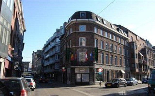 Отель Hôtel Passerelle Liège Бельгия, Льеж - отзывы, цены и фото номеров - забронировать отель Hôtel Passerelle Liège онлайн вид на фасад