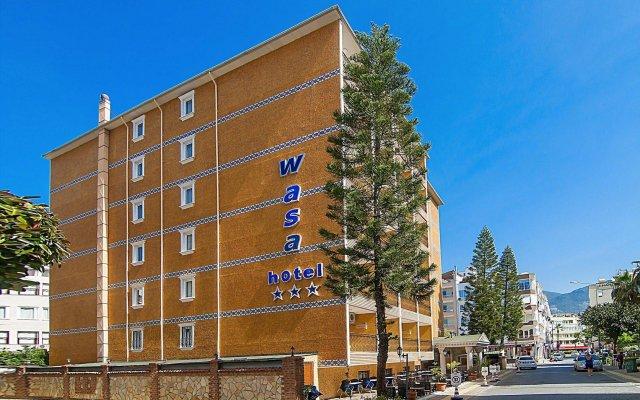 Wasa Hotel Турция, Аланья - 8 отзывов об отеле, цены и фото номеров - забронировать отель Wasa Hotel онлайн вид на фасад