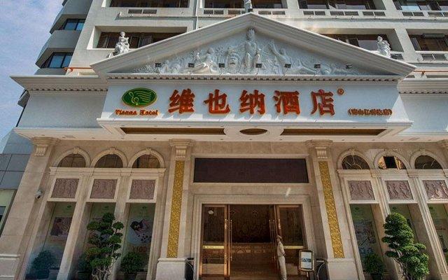 Отель Vienna Shenzhen Nanshan Yilida Шэньчжэнь вид на фасад