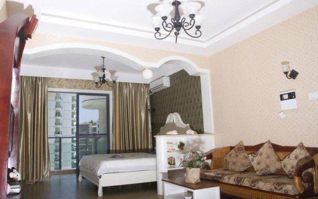 Апартаменты Sanya Haimengqingyuan Holiday Apartment комната для гостей