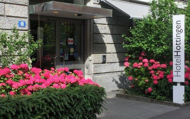 Отель Hottingen Швейцария, Цюрих - отзывы, цены и фото номеров - забронировать отель Hottingen онлайн вид на фасад