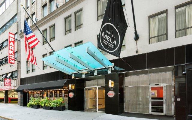 Hotel Mela Times Square вид на фасад