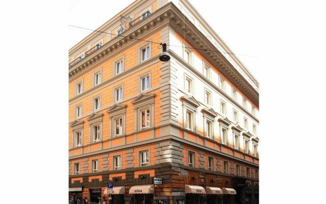 Отель Augusta Lucilla Palace вид на фасад