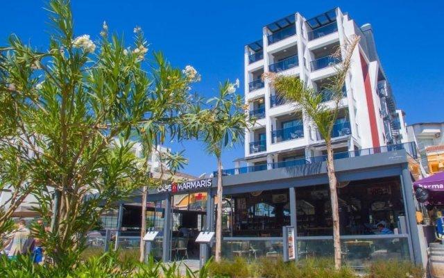 Marmaris Beach Hotel вид на фасад