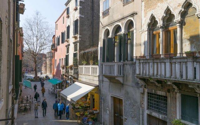 Отель Ponte del Megio вид на фасад