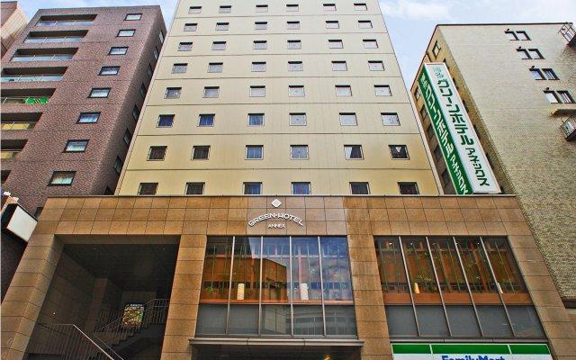 Отель Hakata Green Hotel Annex Япония, Хаката - отзывы, цены и фото номеров - забронировать отель Hakata Green Hotel Annex онлайн вид на фасад