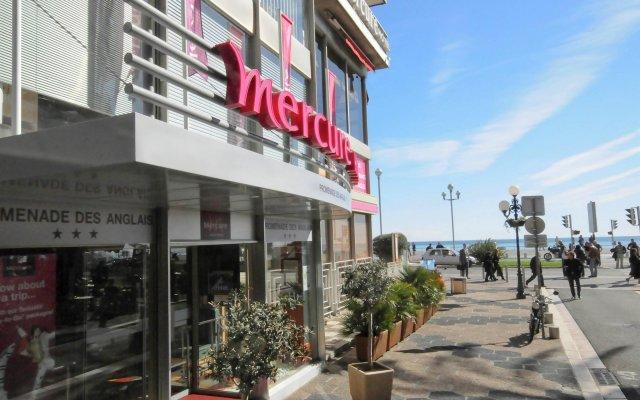 Отель Mercure Nice Promenade Des Anglais Франция, Ницца - - забронировать отель Mercure Nice Promenade Des Anglais, цены и фото номеров вид на фасад