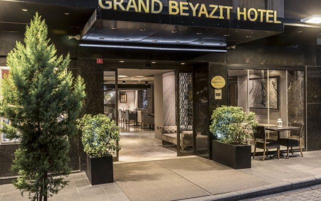Grand Beyazit Hotel Турция, Стамбул - отзывы, цены и фото номеров - забронировать отель Grand Beyazit Hotel онлайн вид на фасад