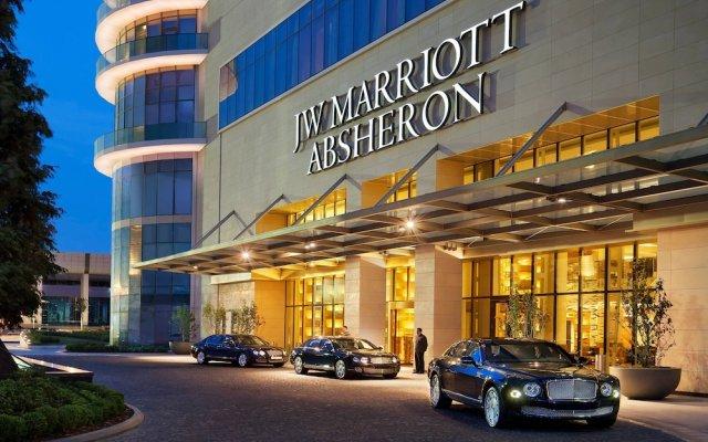 Отель JW Marriott Absheron Baku Азербайджан, Баку - 10 отзывов об отеле, цены и фото номеров - забронировать отель JW Marriott Absheron Baku онлайн вид на фасад