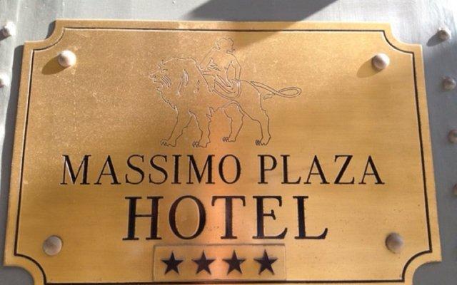 Отель Massimo Plaza Италия, Палермо - отзывы, цены и фото номеров - забронировать отель Massimo Plaza онлайн вид на фасад