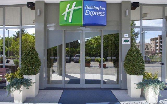 Отель Holiday Inn Express Parma Парма вид на фасад