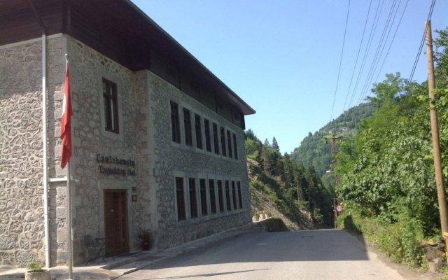 Camlihemsin Tasmektep Hotel вид на фасад