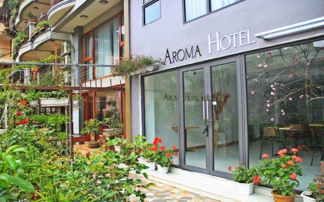 Sapa Aroma Hotel вид на фасад