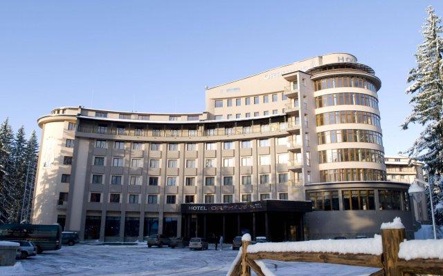 Отель Orpheus Hotel Болгария, Пампорово - отзывы, цены и фото номеров - забронировать отель Orpheus Hotel онлайн вид на фасад