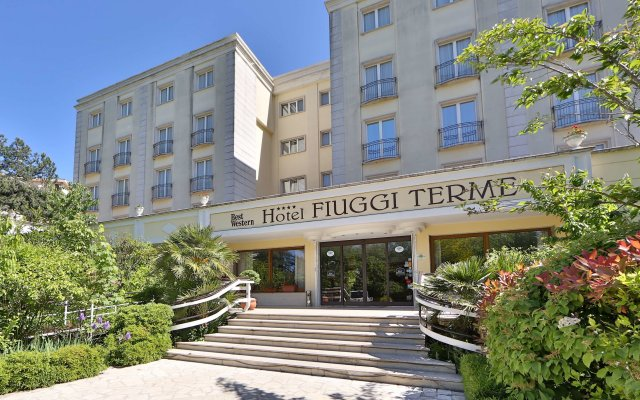 Hotel Fiuggi Terme Resort & Spa, Sure Hotel Collection by Best Western Фьюджи вид на фасад