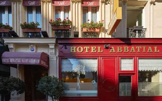 Отель Abbatial Saint Germain Франция, Париж - отзывы, цены и фото номеров - забронировать отель Abbatial Saint Germain онлайн вид на фасад