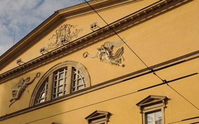 Hotel Torino Парма вид на фасад