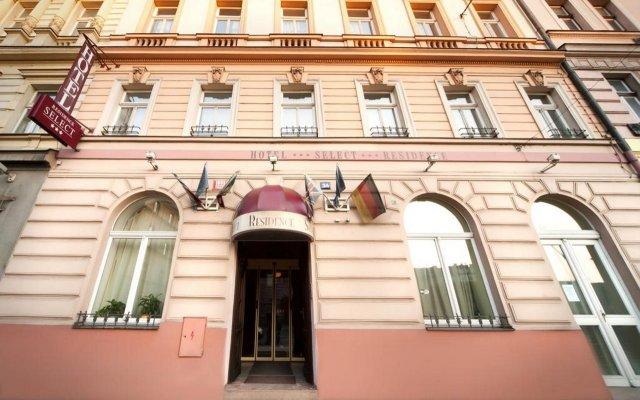 Отель Residence Select вид на фасад