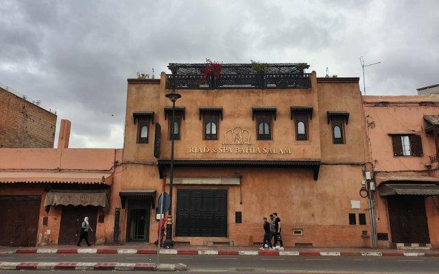 Отель Riad & Spa Bahia Salam Марокко, Марракеш - отзывы, цены и фото номеров - забронировать отель Riad & Spa Bahia Salam онлайн вид на фасад